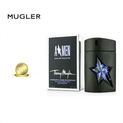 Picture of Thierry Mugler A*Men Refillable Rubber Spray EDT For Men 50ml