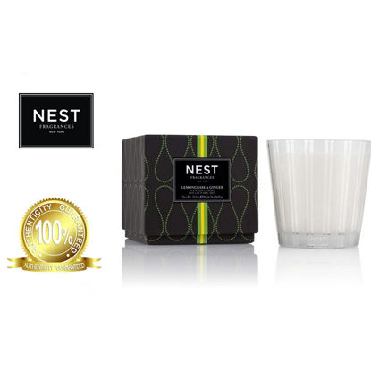Picture of Nest Lemongrass & Ginger 3Wick Candle 600g