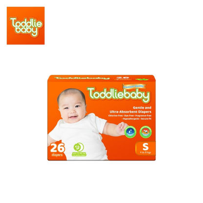 Picture of Toddliebaby Gentle Touch Diapers Size S - 26 pcs x 1 pack