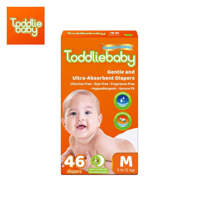 Picture of Toddliebaby Gentle Touch Diapers Size M - 46 pcs x 1 pack