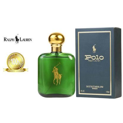 Picture of Ralph Lauren Polo Green Eau de Toilette for Men 118ml