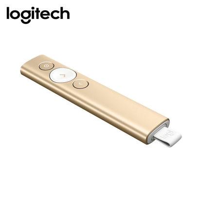 Picture of Logitech Spotlight Advanced Wireless Presentation Remote (Gold)