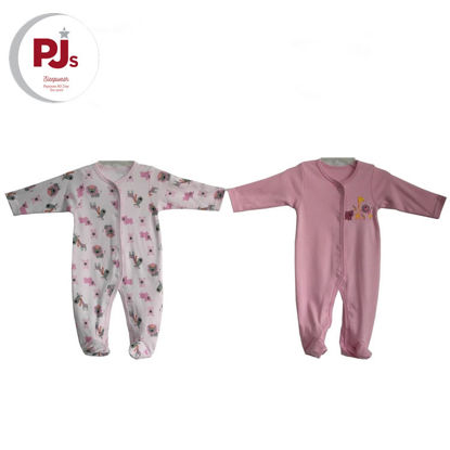 Picture of PJ511 CH3 Coverall Safari Pink