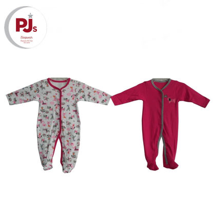 Picture of PJ512 CH3 Coverall Poodle Pink