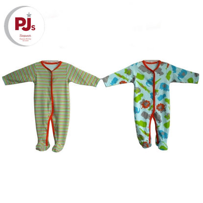 Picture of PJ517 CH3 Coverall Elipo Blue