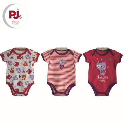 Picture of PJ545 CH5 Onesie Cathy White
