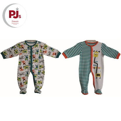 Picture of PJ550 CH5 Coverall Les Robot White