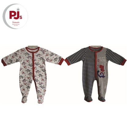 Picture of PJ551 CH5 Coverall Les Dino White