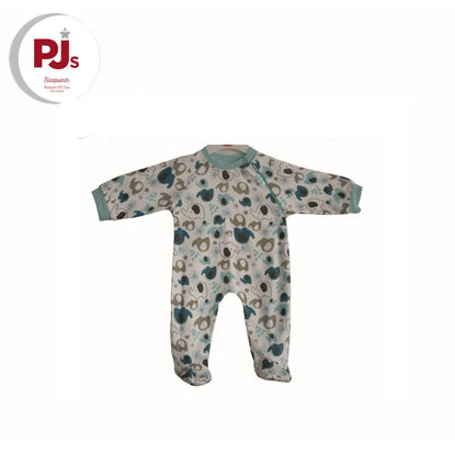 Picture of PJ553 CH5 Coverall Ellietilly White