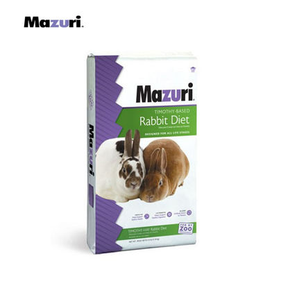 Picture of Mazuri® Rabbit Diet with Timothy Hay 25 lbs