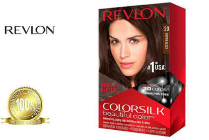 Picture of Revlon Colorsilk Beautiful Color with Keratin 130ml Brown Black No.20