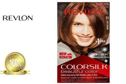 Picture of Revlon Colorsilk Beautiful Color with Keratin 130ml Light Brown No.51