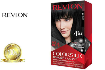 Picture of Revlon ColorSilk Beautiful Color with Keratin 130ml Black No.10