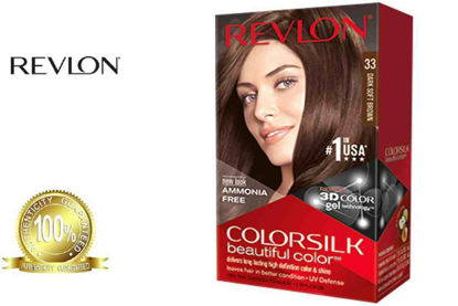 Picture of Revlon Colorsilk Beautiful Color with Keratin 130ml Dark Soft Brown No.33