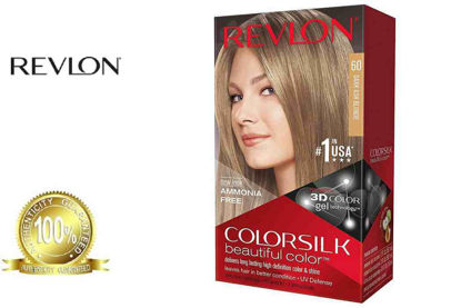 Picture of Revlon Colorsilk Beautiful Color with Keratin 130ml Dark Ash Blonde No.60