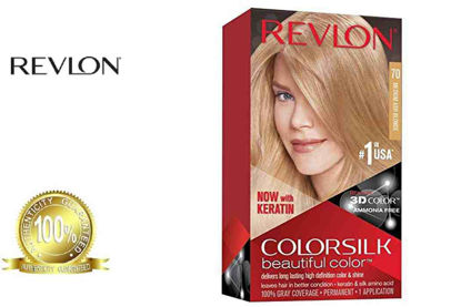 Picture of Revlon Colorsilk Beautiful Color with Keratin 130ml Medium Ash Blonde No.70