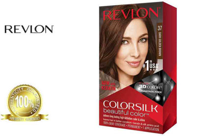 Picture of Revlon Colorsilk Beautiful Color with Keratin 130ml Dark Golden Brown No.37