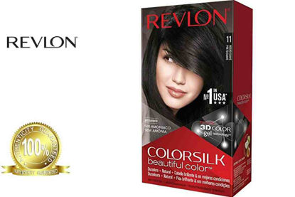 Picture of Revlon Colorsilk Beautiful Color with Keratin 130ml Soft Black No.11