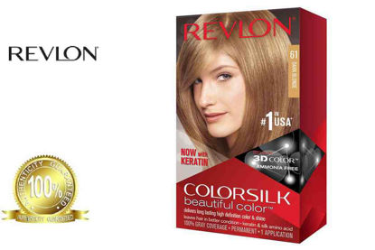 Picture of Revlon Colorsilk Beautiful Color with Keratin 130ml Dark Blonde No.61