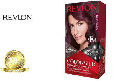 Picture of Revlon Colorsilk Beautiful Color with Keratin 130ml Deep Burgundy No.34