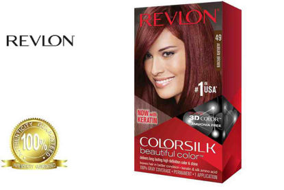 Picture of Revlon Colorsilk Beautiful Color with Keratin 130ml Auburn Brown No.49