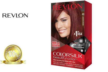 Picture of Revlon Colorsilk Beautiful Color with Keratin 130ml Auburn Brown No.49