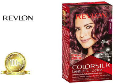Picture of Revlon Colorsilk Beautiful Color with Keratin 130ml Burgundy No.48