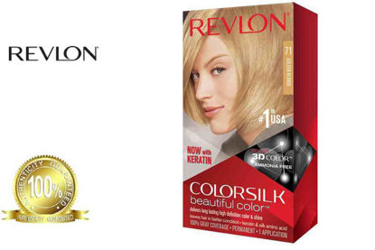 Picture of Revlon Colorsilk Beautiful Color with Keratin 130ml Golden Brown No.71