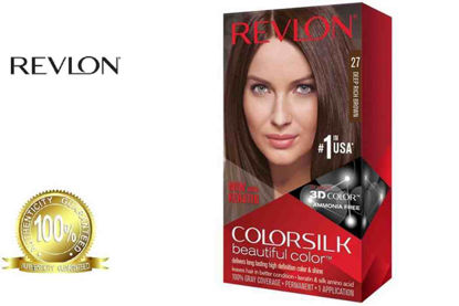 Picture of Revlon Colorsilk Beautiful Color with Keratin 130ML Deep Rich Brown No.27