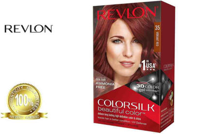 Picture of Revlon Colorsilk Beautiful Color with Keratin 130ml Vibrant Red No.35