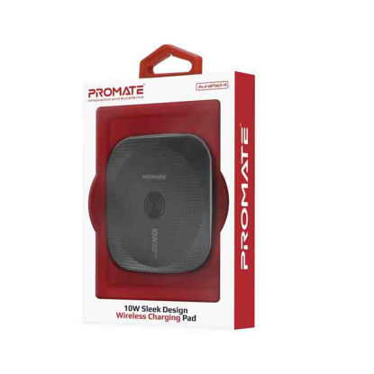 Picture of Promate Aurapad-4 Black Wireless Charging Pad