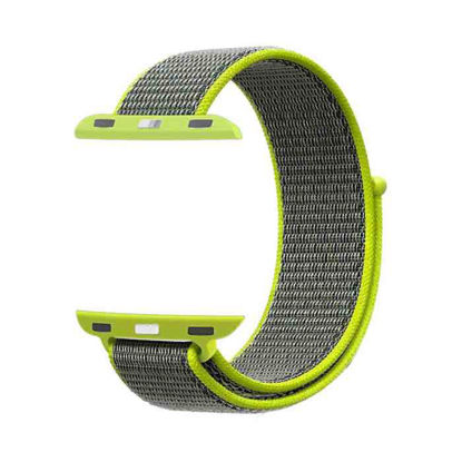 Picture of Promate Fibro-38 Green Apple Watch Strap