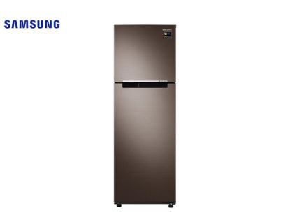 Picture of Samsung 9.1 Cu. Ft. Top Mount No Frost Luxe Brown Refrigerator RT25M4033DX/TC