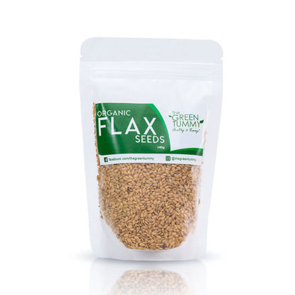 Picture of The Green Tummy Organic Golden Flax Seeds