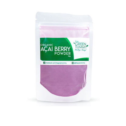 Picture of The Green Tummy Organic Acai Berry Powder