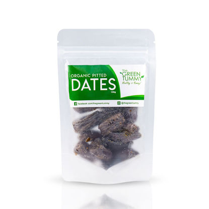Picture of The Green Tummy US Pitted Dates 100g