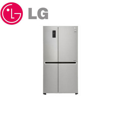 Picture of LG GR-M247CSBW Side by Side Door-in-Door® Refrigerator with Smart Wi-Fi 24 cu.ft.