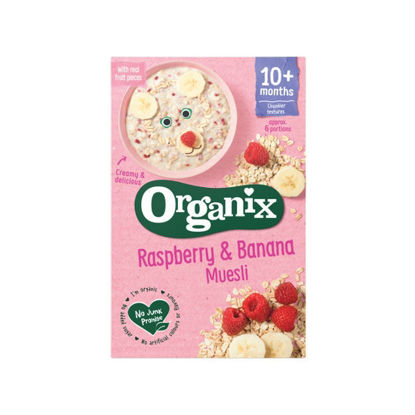 Picture of Organix Raspberry and Banana Muesli 250g