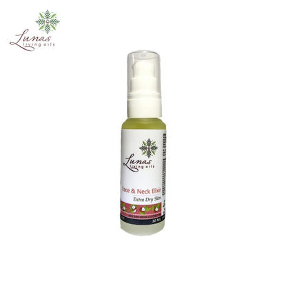 Picture of Lunas Living Oils Daily Essentials Face and Neck Elixir for Extra Dry Skin 30ml