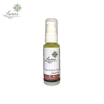 Picture of Lunas Living Oils Daily Essentials Face and Neck Elixir for Normal Skin 30ml