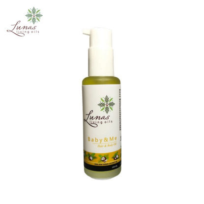 Picture of Lunas Living Oils Baby and Me Hair and Body Oil 100ml