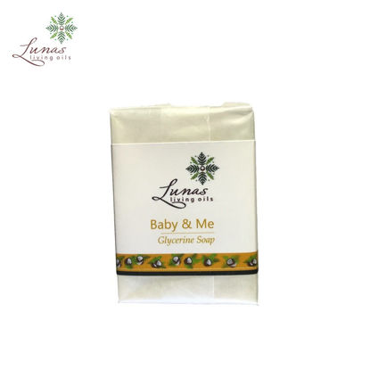 Picture of Lunas Living Oils Baby and Me Glycerine Soap 100g