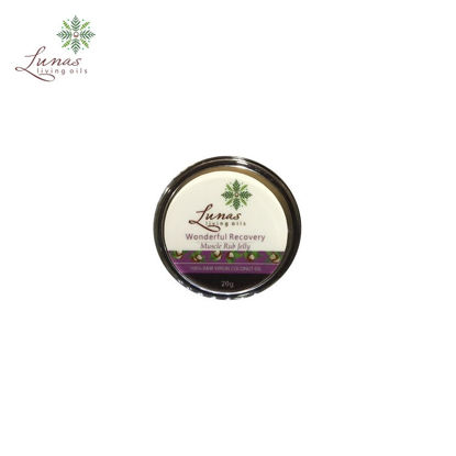 Picture of Lunas Living Oils Wonderful Recovery Muscle Rub Jelly 20g