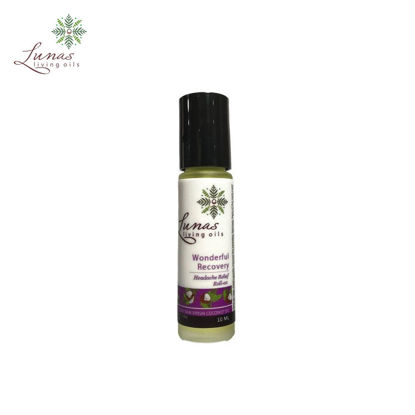 Picture of Lunas Living Oils Wonderful Recovery Headache Relief Roll On 10ml