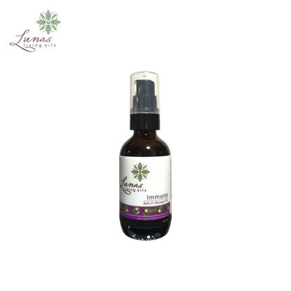 Picture of Lunas Living Oils Immuno Aromatic Bath and Massage Oil 60ml