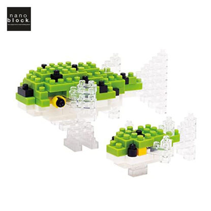 Picture of Nanoblock Green Spotted Puffer