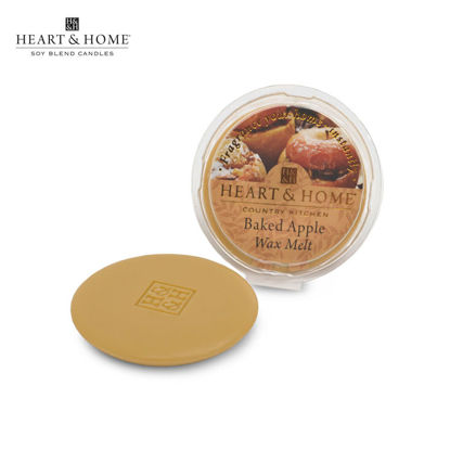 Picture of WAX MELT 26g (Baked Apple) Fragranced Scented Soy Candles by Heart & Home