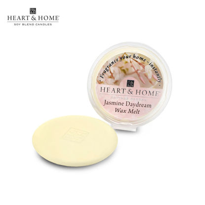 Picture of WAX MELT 26g (Jasmine Daydream) Fragranced Scented Soy Candles by Heart & Home