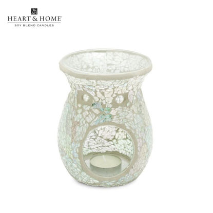 Picture of XL Wax Melt Warmer Special (Iridiscent Crackle) by Heart & Home