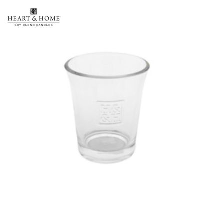 Picture of Glass VOTIVE HOLDER (Clear) for cute-sized Votive Candle by Heart & Home